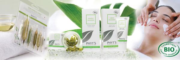 Phyt's bio-aktív kozmetikai kezeléseink és termékeink